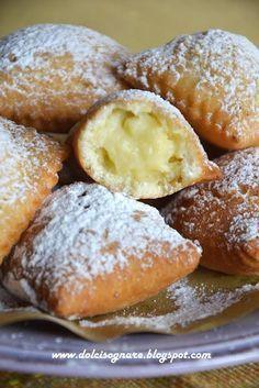 Tortelli dolci fritti