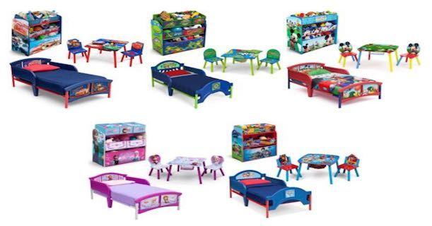 Walmart: Disney Toddler Bed, Table Set, & Bonus Toy Organizer Only $99.98 Shipped!