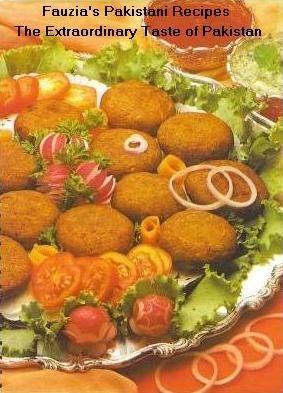 Shami Kabab Recipe - Pakistani Ground Beef, Kabab/Grill, and Appetizer Dish - Fauzia's Pakistani Recipes - The Extraordinary Taste Of Pakistan