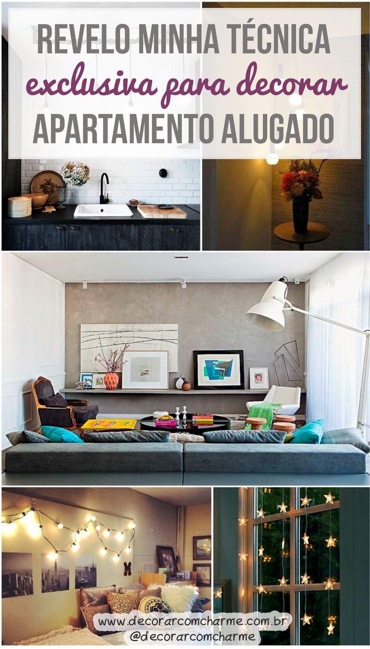 Mora em Apartamento alugado? Vem ver dicas de decoração e deixar a sua casa, mesmo alugada, com a sua cara  #aluguel #decor #casa