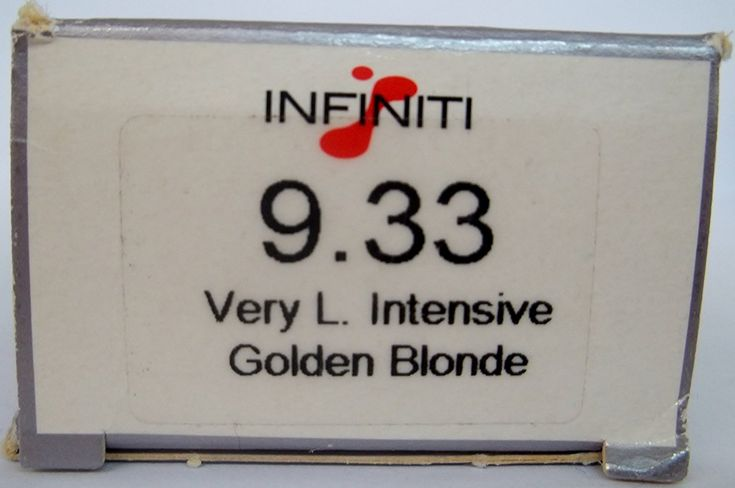 Original Infiniti by Affinage Salon Professional (ASP) - Permanent Hair Color Creme - Enhanced with Datem Technologies - 3.4 Fl. Oz. Tube - Shade Selection: 9.33 - Very Light Intensive Golden Blonde * Check out this great article. #hairdo