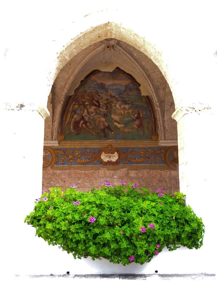 Oasi Sacro Cuore di Gesu' in Santa Maria dell'Isola a Conversano.