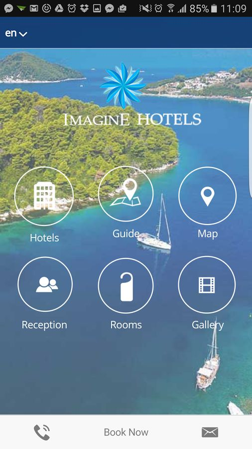 Imagine Hotels App-Makes your trip to Skopelos much easier!
