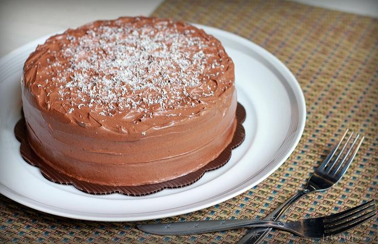 Lemon Choco Cake - The Bake Bits