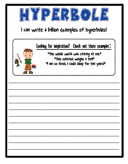 hyperbole-One Extra Degree: Tall Tales Unit Request... Fulfilled! Snag a Freebie!
