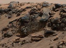 Confirman que Marte reunió condiciones para la vida hace más de 3.000 millones de años Es la primera vez que se documenta la existencia de un lago estratificado en otro mundo. Sedimentos de un lago marciano. Foto: NASA