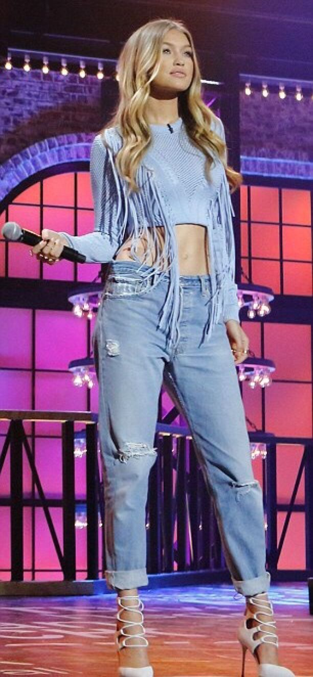 "hadidnews: "" ""Gigi Hadid on Lip Sync Battle which airs this Thursday on Spike at 10/9c."" """