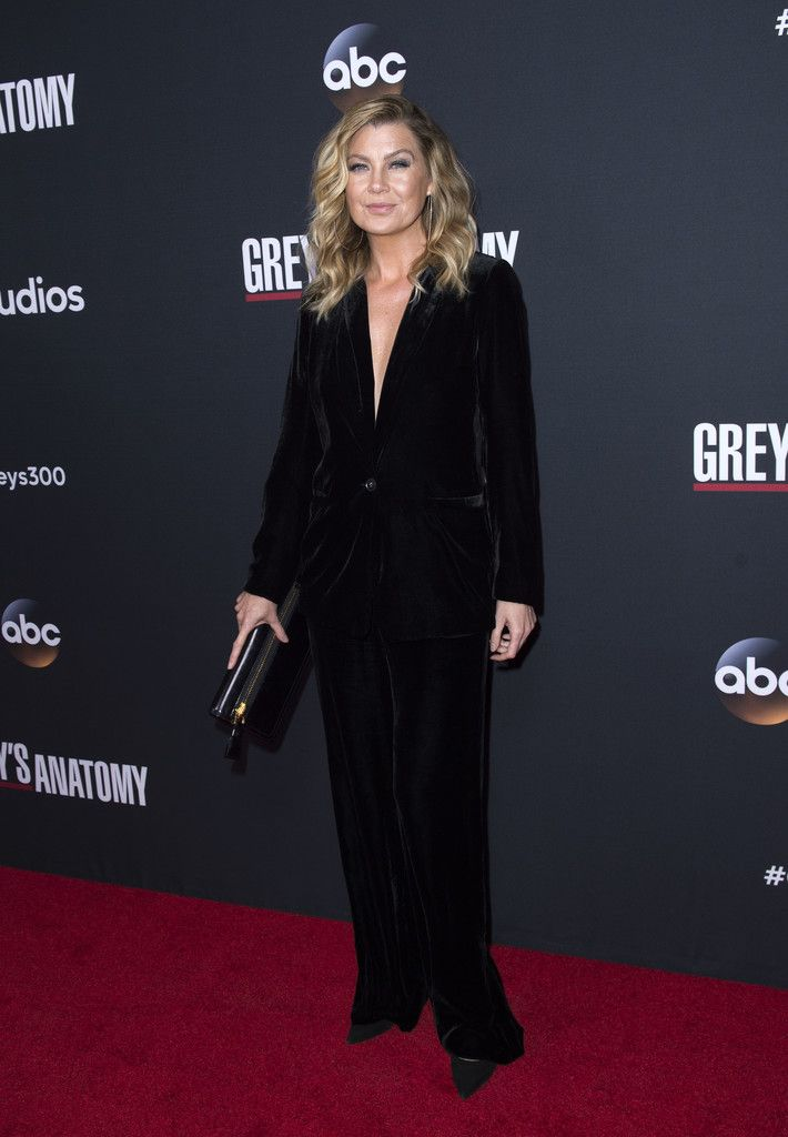 """Ellen Pompeo attends the 300th """"Grey's Anatomy"""" Episode Celebration on November 4, 2017, in Hollywood, California"""