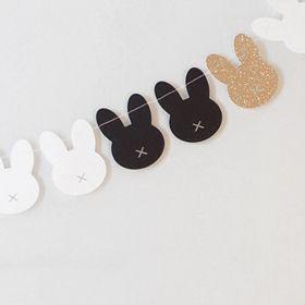 DIY Bunny garland ♥: