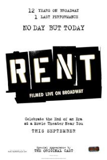 Rent: Filmed Live on Broadway / HU DVD 5526 / http://catalog.wrlc.org/cgi-bin/Pwebrecon.cgi?BBID=7594252