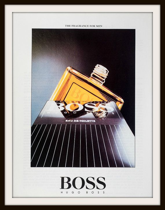 1991 Hugo Boss Fragrance advertisement. Vintage fragrance ad, Vintage Hugo Boss, Vintage aftershave ad, Vintage perfume ad, Vintage fragrance ad, Hugo Boss, fragrance,