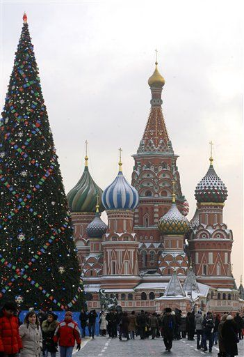 Christmas in Moscow
