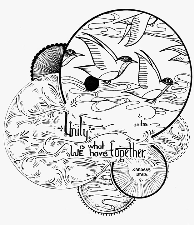 unity... David Hale... This is a beautiful drawing