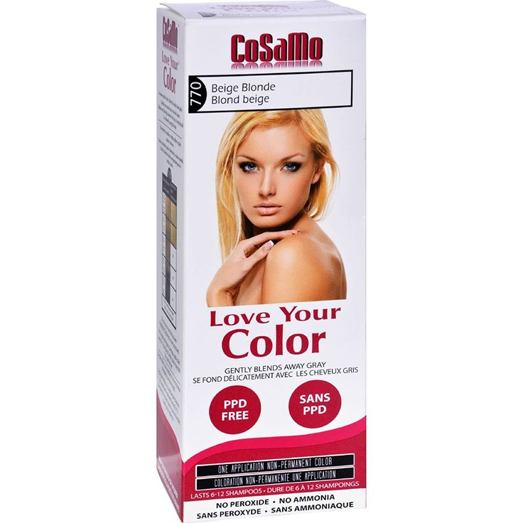 Love Your Color Hair Color - CoSaMo - Non Permanent - Beige Blonde - 1 ct >>> Want to know more, click on the image.
