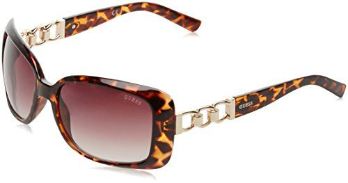 Guess Women's GF6023_52F Sunglasses, Brown (Havana), 58--28.49 Check more at https://www.thesterlingsilver.com/product/guess-womens-gf6023_52f-sunglasses-brown-havana-58/