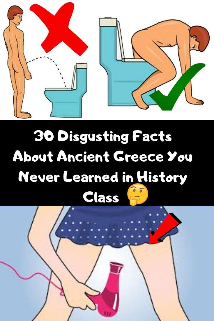30 abscheuliche Fakten über das antike Griechenland, die Sie im Geschichtsunterricht nie gelernt haben