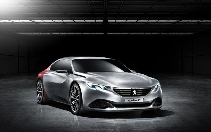 Peugeot Exalt - w skórze rekina - MotoTabu