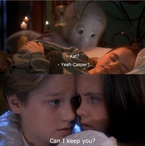 Casper the Movie - Had a major 90's crush on Devon Sawa, aka Casper. Now and Then - another winner.