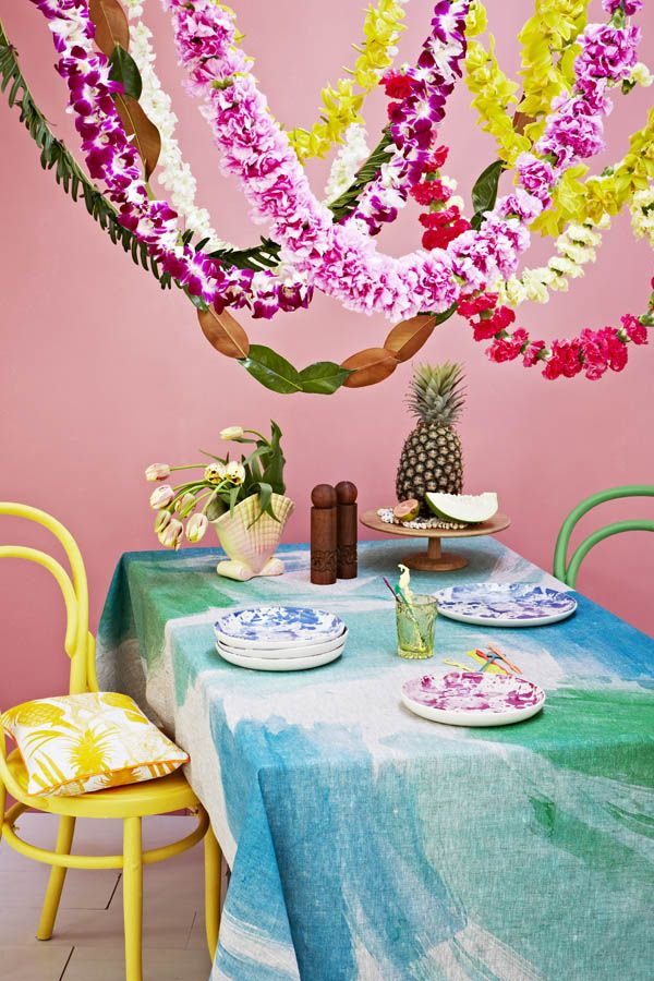 New 'South Pacific' range by Bonnie and Neil.  Photo by Armelle Habib, Flowers by Katie Marx, styling by Heather Nette King!