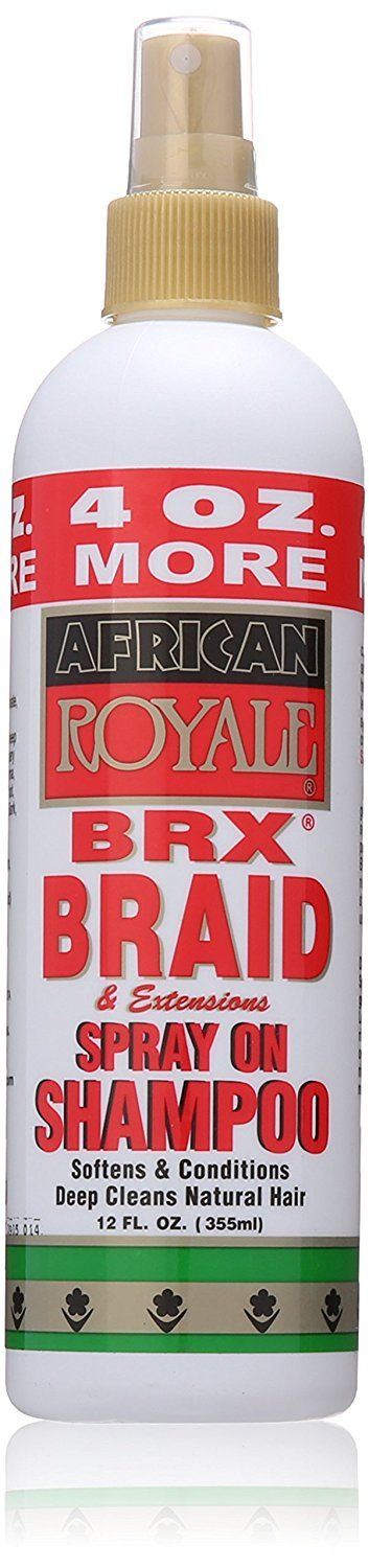 African Royale Brx Braid Spray On Shampoo, 12 Ounce ** You can get additional details at the image link. (This is an Amazon affiliate link)