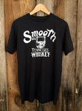 Smooth As Tennessee Whiskey Mens Tee Blk/White | Bandit Brand General Store