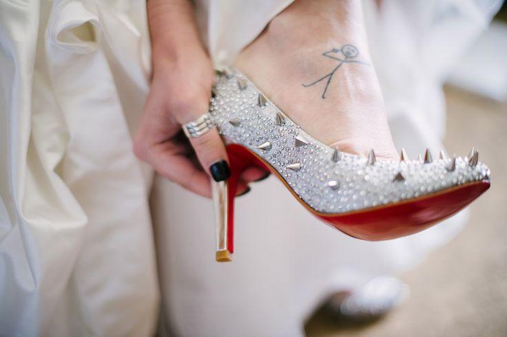Glamorous Rocker Wedding: Ben Samantha