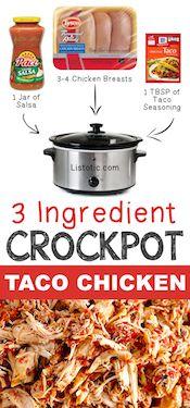 3-Ingredient-Crockpot-Taco-Chicken