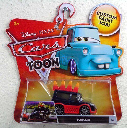 Disney / Pixar CARS TOON 155 Die Cast Car Yokoza By Mattel