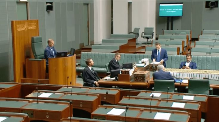 Watch:MP requests independent review after NDIS participant funding slashed by 70%  In an unusually quiet speech to a near empty parliament, free from the usual chest thumping and back slapp…