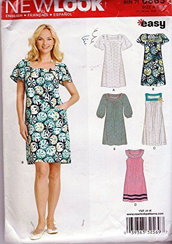 8 best New Look Sewing Patterns images on Pinterest | Factory design ...