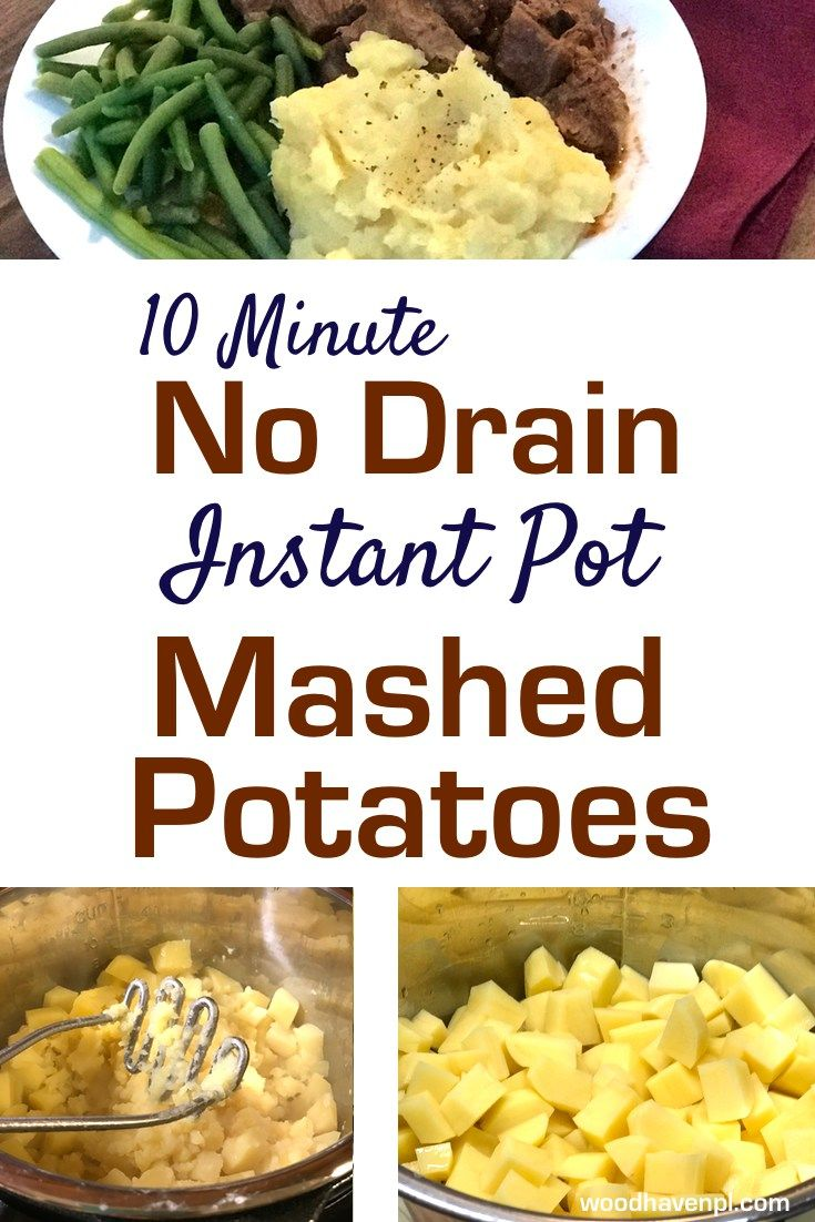 Forget the starchy mess of boiling potatoes or burning hands draining the liquid. Make deliciously easy mashed potatoes in minutes with the Instant Pot.