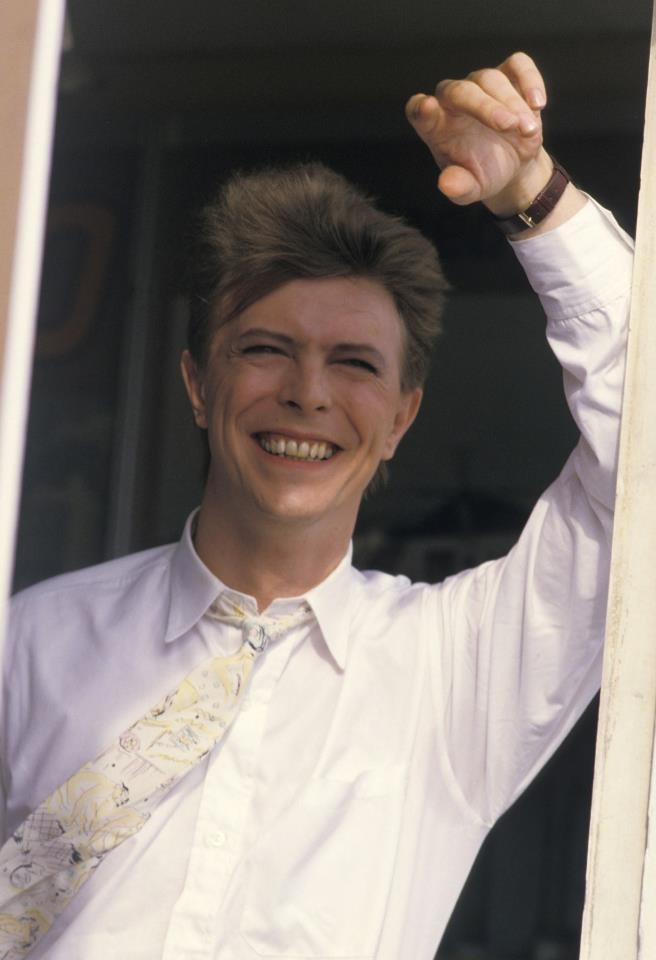 David Bowie had such a beautiful natural smile, I liked it better before he fixed his teeth