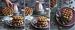 Gofres belgas caseros para desayunos especiales