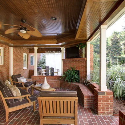 Simple Covered Patio Designs