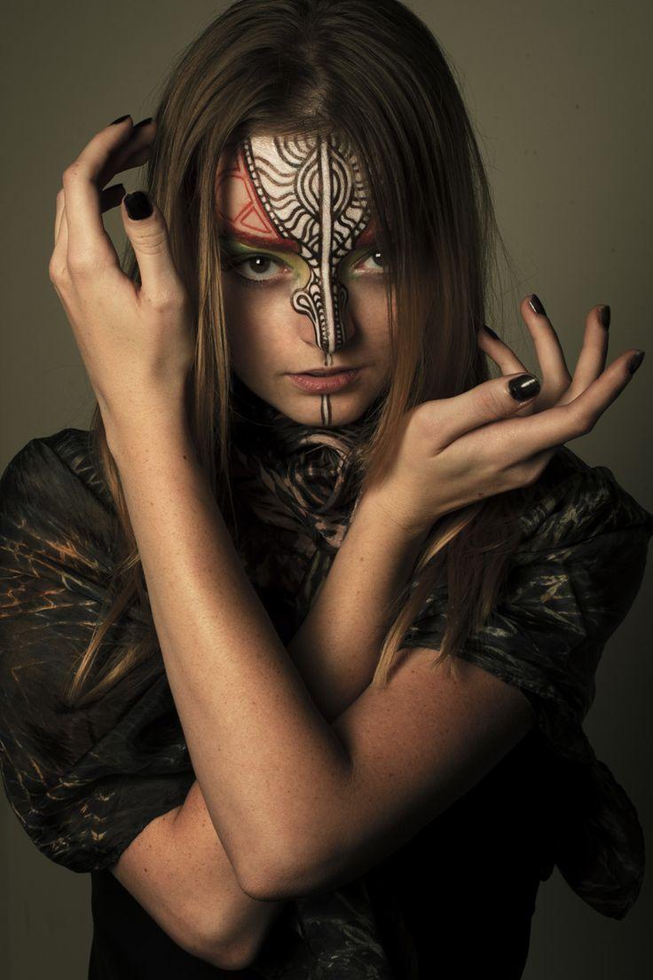 Spirit of the Moth | Georgia Lloyd | Patrizia Fusi  #photography | Face #painting by Cheryl Casden