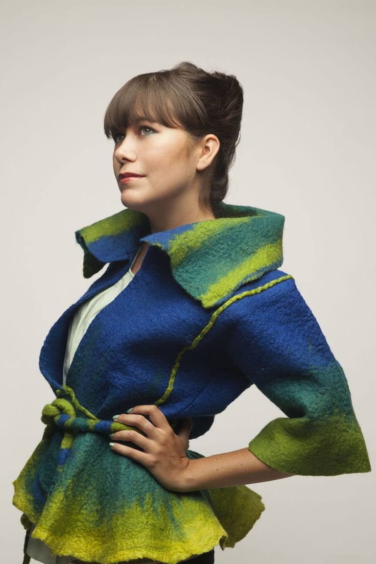 From One Coat to Another by Myra Crandall. Savannah College of Art and Design. Category: Fiber Wearable