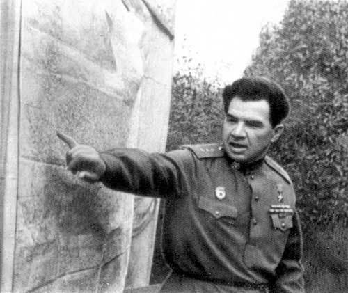General Vasily Chuikov, Commander of the 62nd Army at Stalingrad