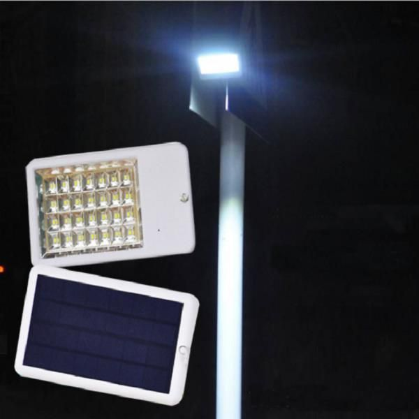 DC7.4V 4.5W Controle Remoto / Light-control 28LED Ultra fino Solar Powered Street Light