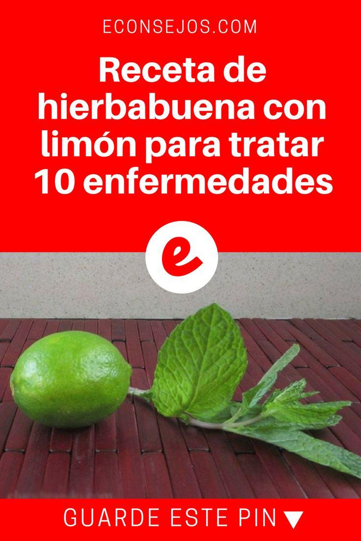 Hierbabuena con limon | Receta de hierbabuena con limón para tratar 10 enfermedades         | Aprende la receta: ¡es muy simple!