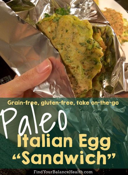 Italian Egg Sandwiches: A No-Bread Breakfast On-The-Go | Find Your Balance with Michelle Pfennighaus