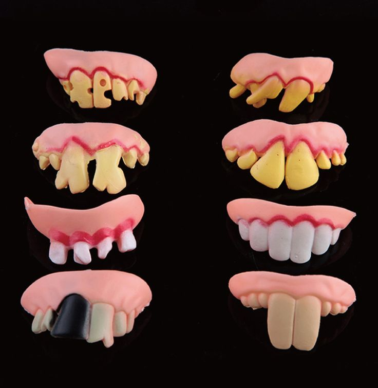 Free Shipping Halloween & April Fool's Day Funny & Tricky Buck Rotten Teeth - Color Random Toy For Kids Gifts Birthday Presents #Affiliate
