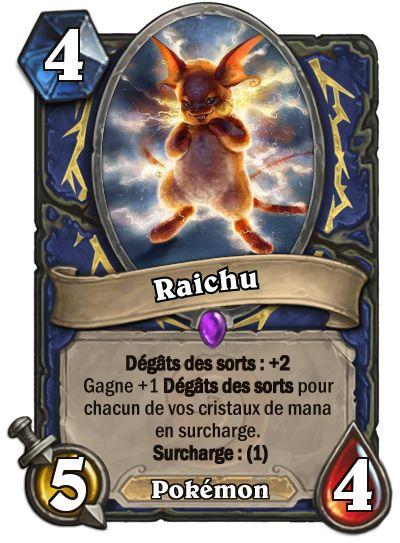 Raichu #Hearthstone #Pokemon