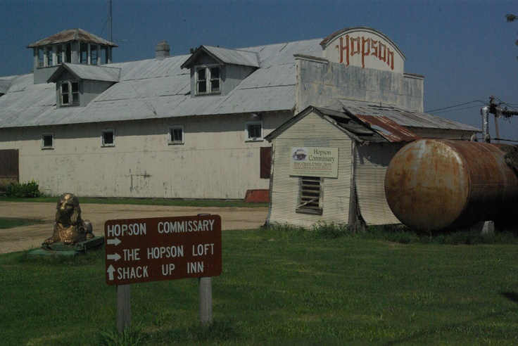 Hopson Plantation Commissary, Clarksdale, Mississippi......photo by Mel
