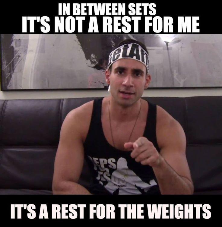Bro Science tells it how it is. #restupweights
