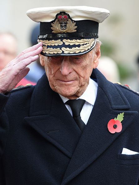 Prince Philip, Duke of Edinburgh attends the Fields of Remembrance at Westminster Abbey on November 10, 2016 in London, England.