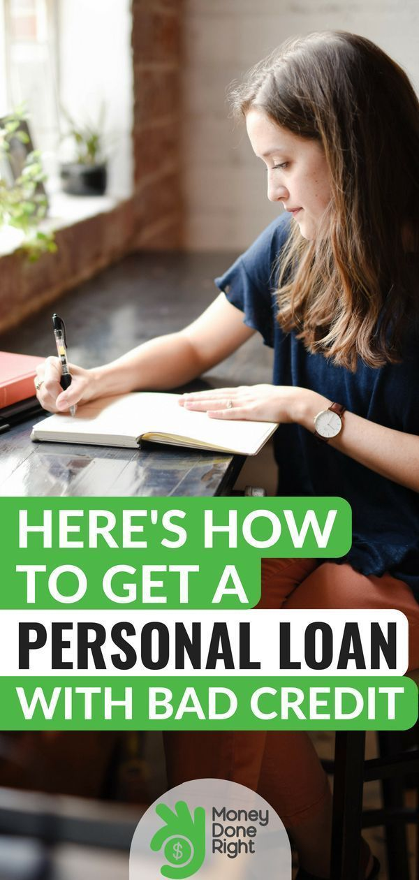 Personal Loans For Bad Credit How To Get A Loan With 400 500 Or 600 Score Fixing Bad Credit Ideas Of Personal Loans Loans For Bad Credit Credit Card Loans