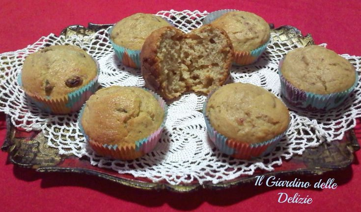 Muffin uvetta e yogurt