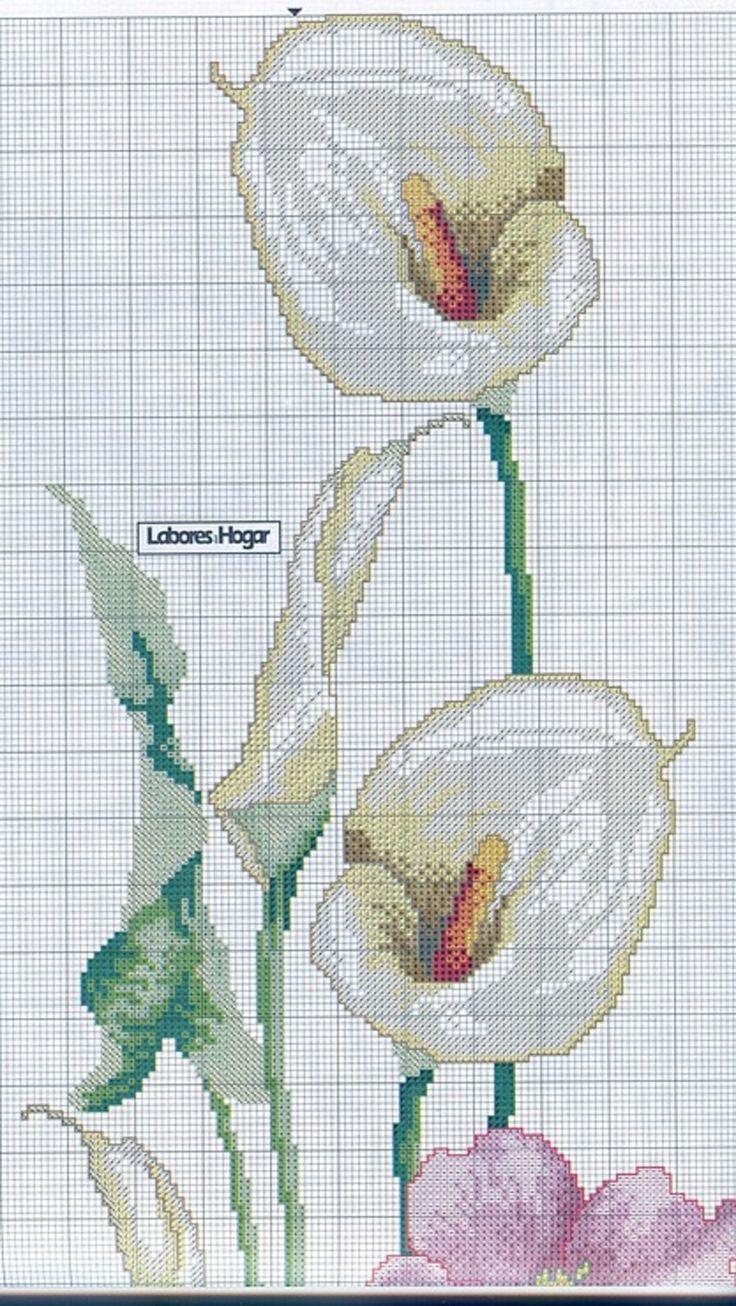 Pin di fabrizia g su punto croce fiori e farfalle cross for Punto croce fiori e farfalle