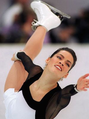 nancy kerrigan | Nancy Kerrigan began skating at age six. She grew up with brothers who ...