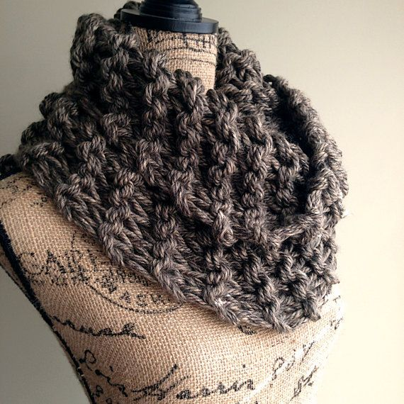 Outlander Inspired Super Chunky Knit Cowl Womens By